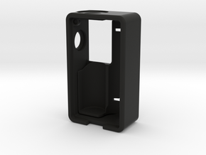 Single 18650 Mechanical Squonk Mod Frame in Black Natural Versatile Plastic