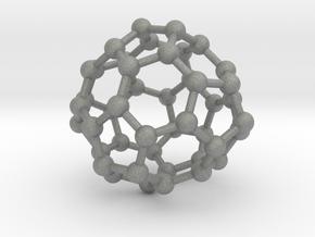 0700 Fullerene c44-72 d3h in Gray PA12