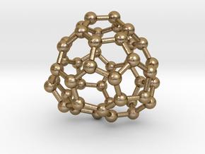 0705 Fullerene c44-77 c1 in Polished Gold Steel