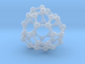 0708 Fullerene c44-80 d3 in Smooth Fine Detail Plastic