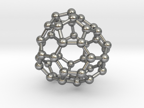 0708 Fullerene c44-80 d3 in Natural Silver