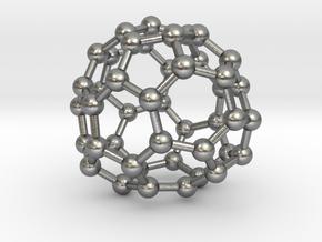 0711 Fullerene c44-83 d2 in Natural Silver