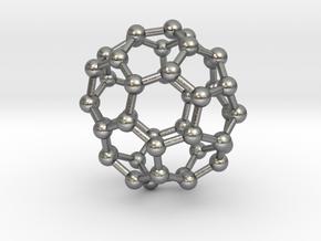 0714 Fullerene c44-86 d3d in Natural Silver