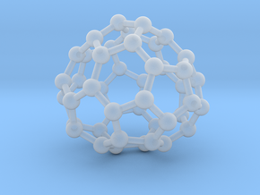 0715 Fullerene c44-87 c1 in Smooth Fine Detail Plastic