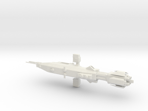 EA Warlock Destroyer Armada Scale WSF in White Natural Versatile Plastic