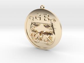 PhiThetaKappa Ornament in 14K Yellow Gold