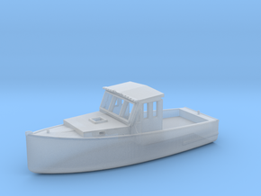 HO Scale Fishing Boat in Smooth Fine Detail Plastic