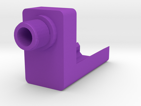 G17 Frame-Mounted Barrel Adapter in Purple Processed Versatile Plastic