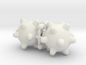 MegaMace Hand Set for ModiBot in White Natural Versatile Plastic