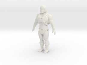 Printle V Homme 1497 - 1/24 - wob in White Natural Versatile Plastic