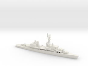 1/600 Scale Sumner Class FRAM 2 6 Gun in White Natural Versatile Plastic