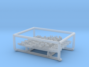 UK Town-class DD [1943] (x6) in Smooth Fine Detail Plastic: 1:4800