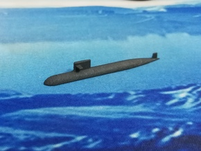 PLA[N] 093A Submarine, 1/1800 in White Natural Versatile Plastic