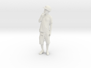 Printle C Homme 1528 - 1/24 - wob in White Natural Versatile Plastic