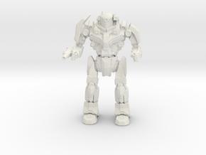 Boar Loach-6-KNT Mechanized Walker System in White Natural Versatile Plastic
