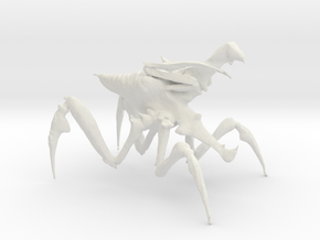 Arachnid Bug 4 in White Natural Versatile Plastic