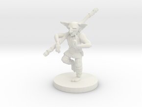Goblin Monk - Small Humanoid in White Natural Versatile Plastic