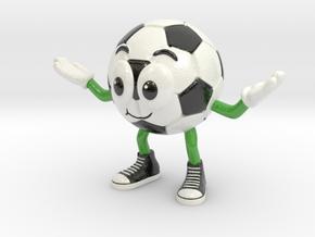 SPORT - Soccer in Glossy Full Color Sandstone: Medium