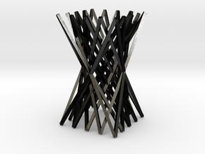 Chopstick Rest in Matte Black Steel