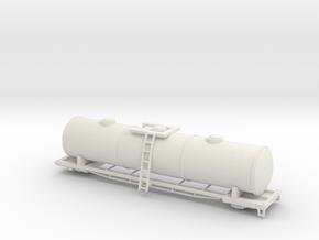 tanker, n scale, 1:160 in White Natural Versatile Plastic