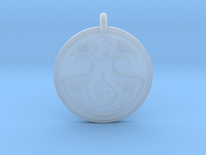Cerridwen Celtic- Round in Smooth Fine Detail Plastic