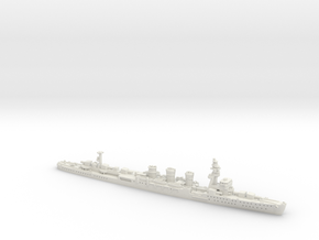 IJN CL Kiso [1942] in White Natural Versatile Plastic: 1:1800
