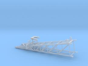 1/64th Lattice Crane Boom Base  in Smooth Fine Detail Plastic
