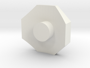 119 steam dome base in White Natural Versatile Plastic