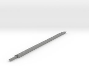 Larger Katana blade in Gray Professional Plastic