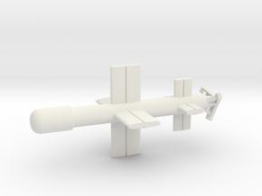 (1:144) Ke-Go in White Natural Versatile Plastic