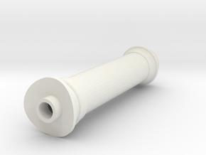 119 smoke stack in White Natural Versatile Plastic
