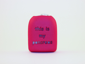This is my pancreas - Omnipod Pod Cover in Pink Processed Versatile Plastic