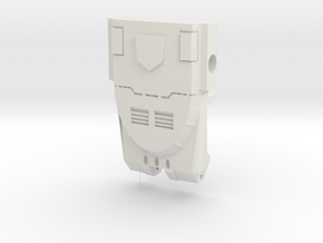 Ko Os Warbotron Chest  in White Natural Versatile Plastic