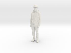 Printle C Homme 1596 - 1/24 - wob in White Natural Versatile Plastic