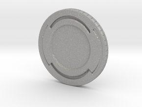 Star wars Sabacc Solo Simple Coin chip in Aluminum