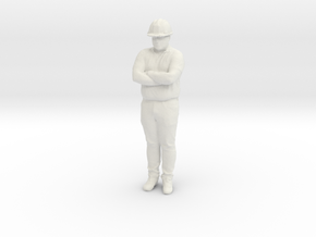 Printle C Homme 1603 - 1/24 - wob in White Natural Versatile Plastic