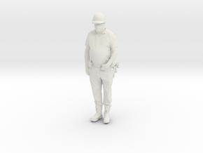 Printle C Homme 1604 - 1/24 - wob in White Natural Versatile Plastic