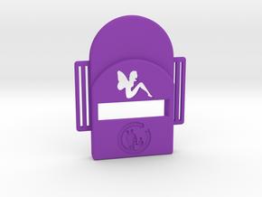 Bark Heroes: Fairy in Purple Processed Versatile Plastic