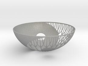 Yin Yang Bowl in Aluminum
