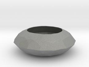 Diamond Bowl in Gray Professional Plastic