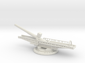 Sk l/45 38cm max e 1/144 artillery turntable  in White Natural Versatile Plastic