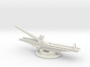 Sk l/45 38cm max e 1/200 artillery turntable in White Natural Versatile Plastic