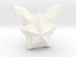 Jinx Star Guardian Pin in White Processed Versatile Plastic