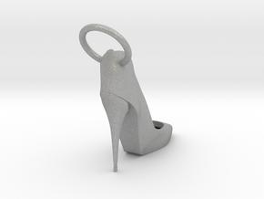 Left Foot Heel Earring in Aluminum
