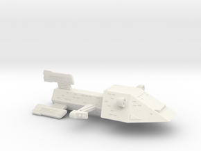 3125 Scale Kzinti Light Cruiser (CL) SRZ in White Natural Versatile Plastic