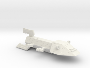 3788 Scale Kzinti Heavy Battlecruiser (BCH) SRZ in White Natural Versatile Plastic