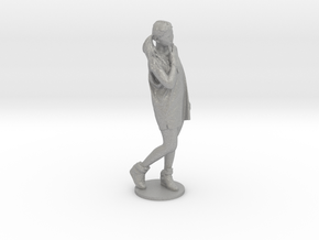 Scanned pretty Girl - 10CM High in Aluminum