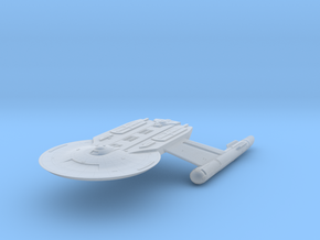 """Discovery time line USS Baker 4.7"""" in Smooth Fine Detail Plastic"""