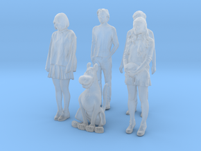 Printle V Tween 058 - 1/50 - wob in Smooth Fine Detail Plastic