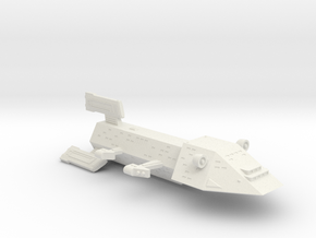3125 Scale Kzinti Heavy Battlecruiser (BCH) SRZ in White Natural Versatile Plastic